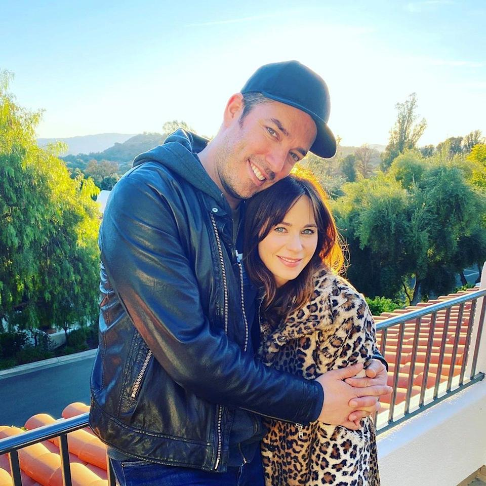"""The happy couple <a href=""""https://people.com/tv/zooey-deschanel-sweetie-jonathan-scott-celebrate-first-new-year-together-with-loving-posts/"""" rel=""""nofollow noopener"""" target=""""_blank"""" data-ylk=""""slk:rang in the new year together"""" class=""""link rapid-noclick-resp"""">rang in the new year together</a>, posting sweet photos to of their send-off to 2019. Deschanel captioned a photo of the pair, """"A truly Happy New Year with my sweetie!"""" For his part, Scott <a href=""""https://www.instagram.com/p/B6xXRMrpTnn/"""" rel=""""nofollow noopener"""" target=""""_blank"""" data-ylk=""""slk:captioned his post"""" class=""""link rapid-noclick-resp"""">captioned his post</a>, """"Once in a lifetime you meet someone who changes everything😍"""""""