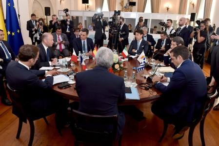 Southern EU leaders back Cyprus in gas dispute with Turkey