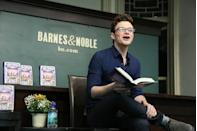 "<p>Chris Colfer knows a thing or two about making fairy-tale dreams come true. After starring for six seasons as Kurt Hummel on <em>Glee</em> (and winning a Golden Globe for the role), Chris turned his attention to writing and final finished the book that he had been working on since he was 7 years old, he told the <em><a href=""https://www.miamiherald.com/entertainment/ent-columns-blogs/jordan-levin/article1974315.html"" rel=""nofollow noopener"" target=""_blank"" data-ylk=""slk:Miami Herald"" class=""link rapid-noclick-resp"">Miami Herald</a></em>.</p><p>That book became the first in his <em>Land of Stories</em> series, which focuses on a twin brother and sister who find themselves in a magical kingdom that also happens to be the home of familiar characters, including Cinderella, Goldilocks, and Sleeping Beauty. The best-selling YA series now includes six books, with plans to expand to universe with stories about other characters and even a TV show in the works, according to the <em><a href=""https://www.hollywoodreporter.com/heat-vision/chris-colfer-shawn-levy-tackling-land-stories-movie-fox-1013051"" rel=""nofollow noopener"" target=""_blank"" data-ylk=""slk:Hollywood Reporter"" class=""link rapid-noclick-resp"">Hollywood Reporter</a></em>. </p><p><a class=""link rapid-noclick-resp"" href=""https://www.amazon.com/Wishing-Spell-Land-Stories/dp/0316201561?tag=syn-yahoo-20&ascsubtag=%5Bartid%7C2139.g.34385633%5Bsrc%7Cyahoo-us"" rel=""nofollow noopener"" target=""_blank"" data-ylk=""slk:Buy the Book"">Buy the Book</a></p>"