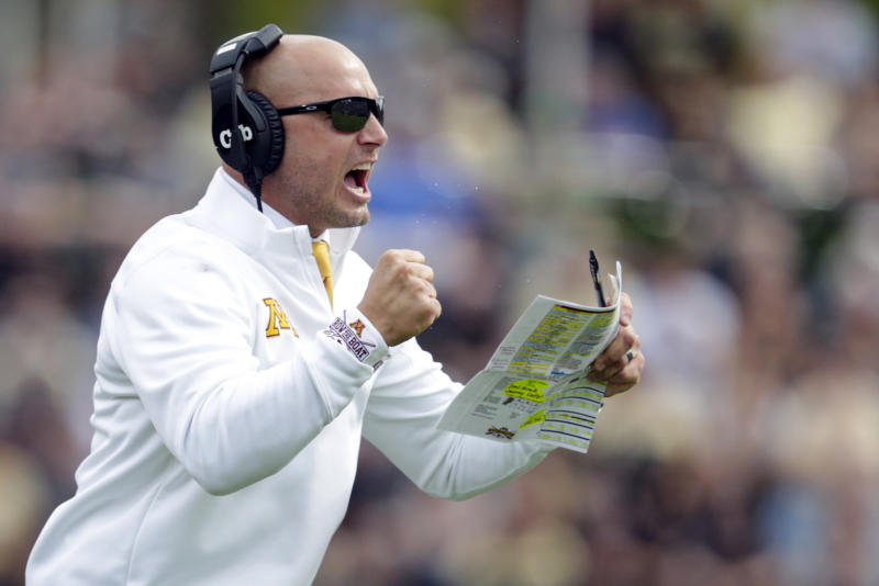 Minnesota coach P.J. Fleck has new contract and a raise