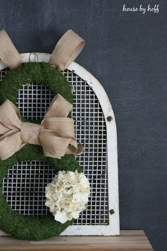 """<p>When you attach two wreaths, you can easily make a bunny for Easter! Add moss, burlap, and a faux hydrangea sprig and you're ready to go.</p><p><strong>Get the tutorial at <a href=""""https://www.housebyhoff.com/2015/03/burlap-moss-easter-bunny-wreath/"""" rel=""""nofollow noopener"""" target=""""_blank"""" data-ylk=""""slk:House by Hoff"""" class=""""link rapid-noclick-resp"""">House by Hoff</a>.</strong></p><p><a class=""""link rapid-noclick-resp"""" href=""""https://go.redirectingat.com?id=74968X1596630&url=https%3A%2F%2Fwww.walmart.com%2Fip%2FStraw-Wreath-10%2F28672539&sref=https%3A%2F%2Fwww.thepioneerwoman.com%2Fhome-lifestyle%2Fcrafts-diy%2Fg35698457%2Fdiy-easter-wreath-ideas%2F"""" rel=""""nofollow noopener"""" target=""""_blank"""" data-ylk=""""slk:SHOP STRAW WREATHS"""">SHOP STRAW WREATHS</a></p>"""