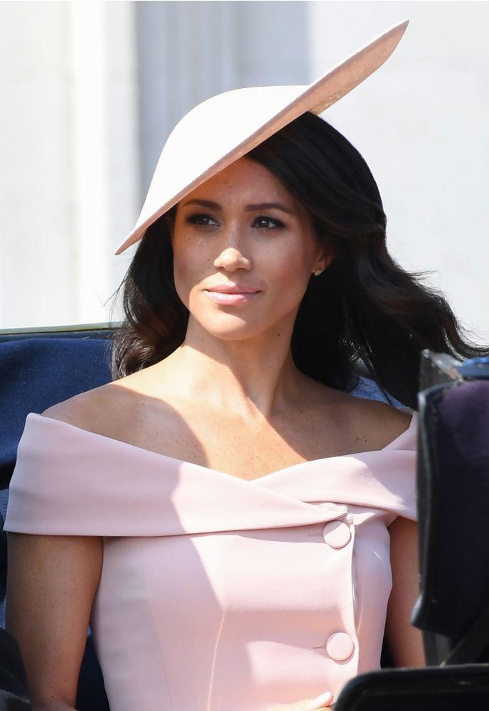 Meghan Markle at Trooping the Colour 2018 | Doug Peters/PA Images/INSTARimages.com