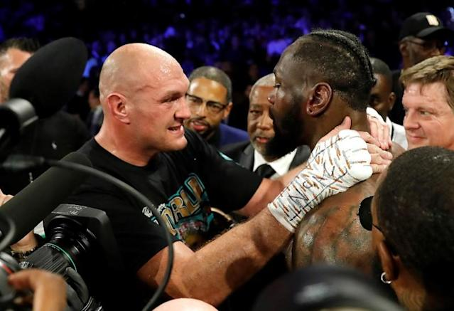 FILE PHOTO: Deontay Wilder v Tyson Fury - WBC Heavyweight Title