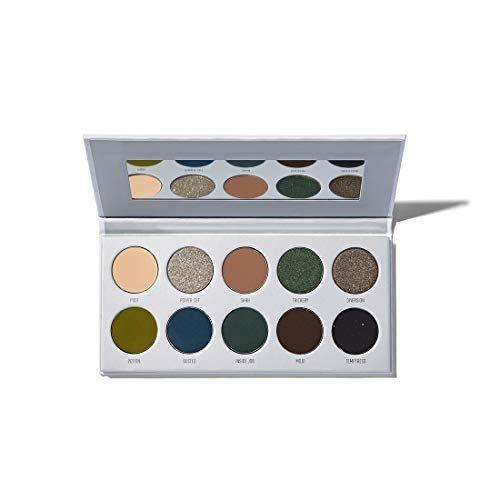 """<p><strong>MORPHE</strong></p><p>amazon.com</p><p><strong>$27.99</strong></p><p><a href=""""https://www.amazon.com/dp/B07H2TPHX9?tag=syn-yahoo-20&ascsubtag=%5Bartid%7C10055.g.28589490%5Bsrc%7Cyahoo-us"""" rel=""""nofollow noopener"""" target=""""_blank"""" data-ylk=""""slk:Shop Now"""" class=""""link rapid-noclick-resp"""">Shop Now</a></p><p>We kind of think Morphe had Wednesday in mind when they created this eyeshadow palette. The deeper tones will reflect her dark personality.</p>"""