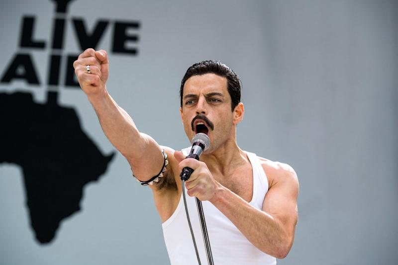 Rami Malek, Bohemian Rhapsody: Alamy Stock Photo