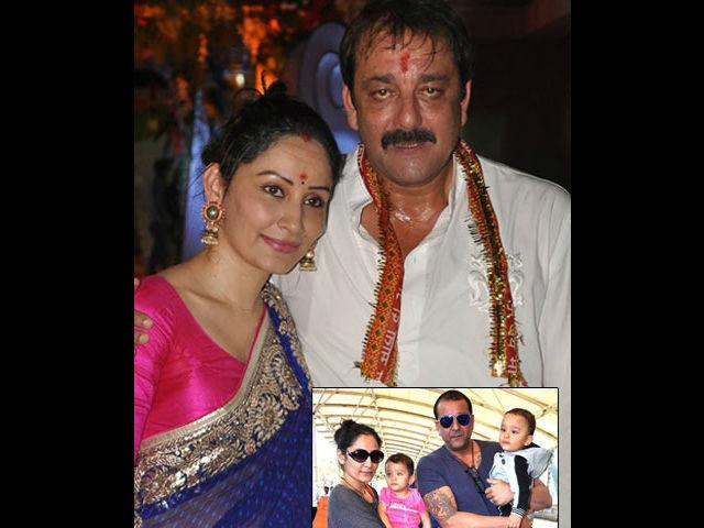 <p><strong>Manyata-Sunjay Dutt</strong><br /><br />Their marriage was the most talked about marriage in tinsel town and so the anticipation over the babies was natural. The couple had twins- Shahraan and Iqra. Sanjay Dutt also has a daughter from his earlier marriage.</p>