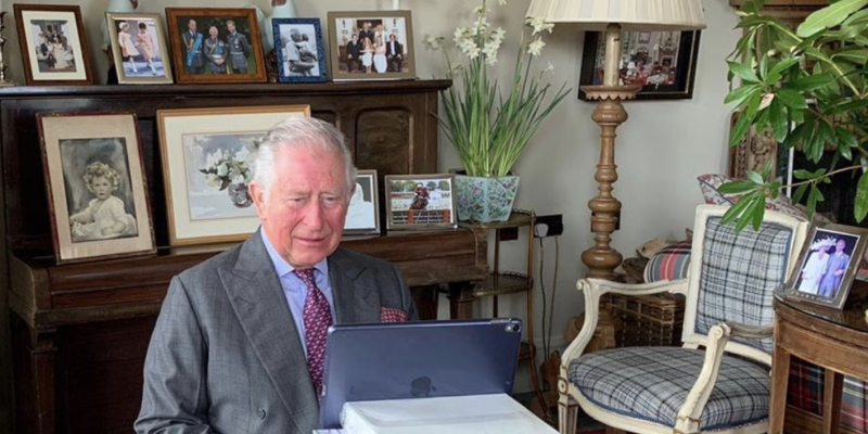 Photo credit: Clarence House - Twitter