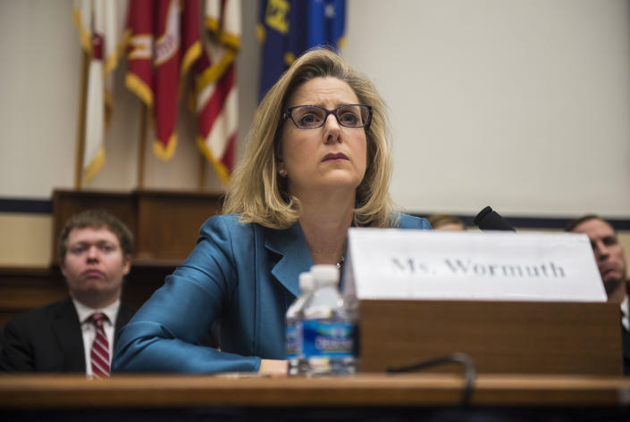 Defense Undersecretary for Policy Christine Wormuth testifies at the House Armed Services Full Committee hearing on