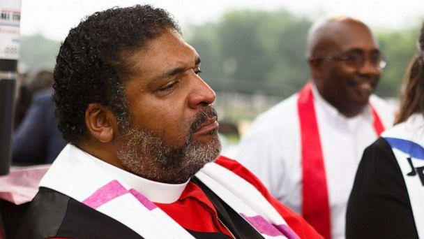 PHOTO: In this June 23, 2018, file photo, Rev. William J. Barber is shown in Washington, DC. (Keith Lane/The Washington Post via Getty Images, FILE)