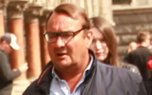 Paul Mansfield, 56, was ordered to hand over £12.2million to his former wife of 26 years, Jane, by a judge last year - Paul Keogh