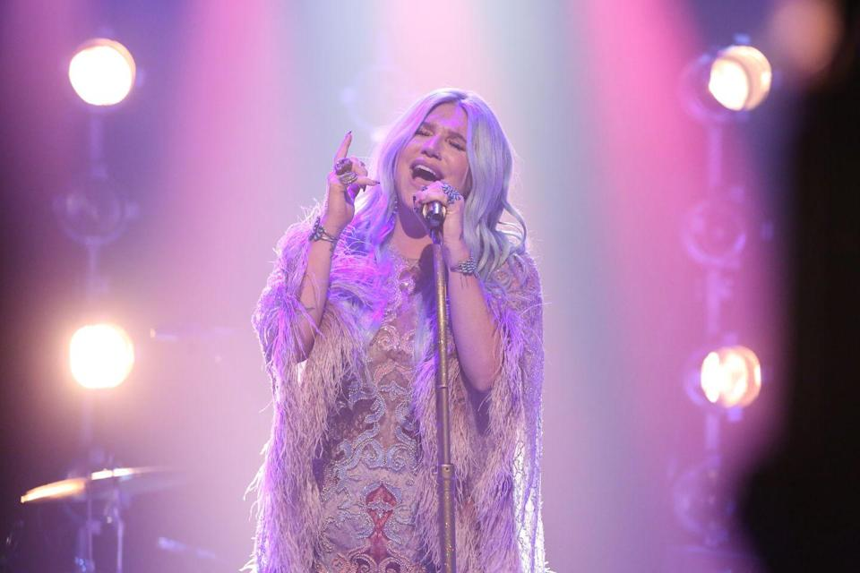 """<p>After a <a href=""""https://www.elle.com/culture/celebrities/news/a38724/kesha-on-dr-luke-instagram-august-message/"""" rel=""""nofollow noopener"""" target=""""_blank"""" data-ylk=""""slk:long legal battle trying to free herself from a contract with a producer"""" class=""""link rapid-noclick-resp"""">long legal battle trying to free herself from a contract with a producer</a> who allegedly drugged and assaulted her, Kesha released this powerful song in 2017. In a <a href=""""https://www.lennyletter.com/story/kesha-fights-back-in-her-new-single-praying"""" rel=""""nofollow noopener"""" target=""""_blank"""" data-ylk=""""slk:piece for Lenny Letter"""" class=""""link rapid-noclick-resp"""">piece for Lenny Letter</a>, Kesha wrote, """"This song is about coming to feel empathy for someone else even if they hurt you or scare you. It's a song about learning to be proud of the person you are even during low moments when you feel alone. It's also about hoping everyone, even someone who hurt you, can heal."""" </p>"""
