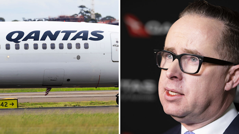 Qantas set to ground majority of international flights. Source: Getty