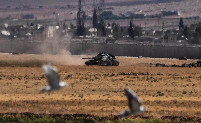 ISIS militants lose all its territory along the Syrian-Turkish border
