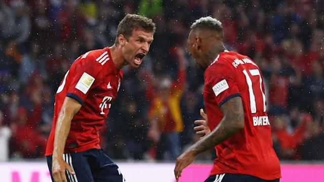 Bayern Munich stars Thomas Muller and Jerome Boateng might have to be content with bench duty once again for Saturday's trip to Mainz.