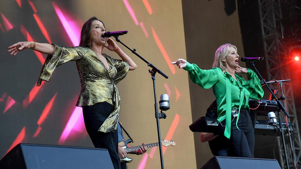 Bananarama, who are still performing together today, say they're happy to have inspired feisty female groups! (Image: Getty Images)