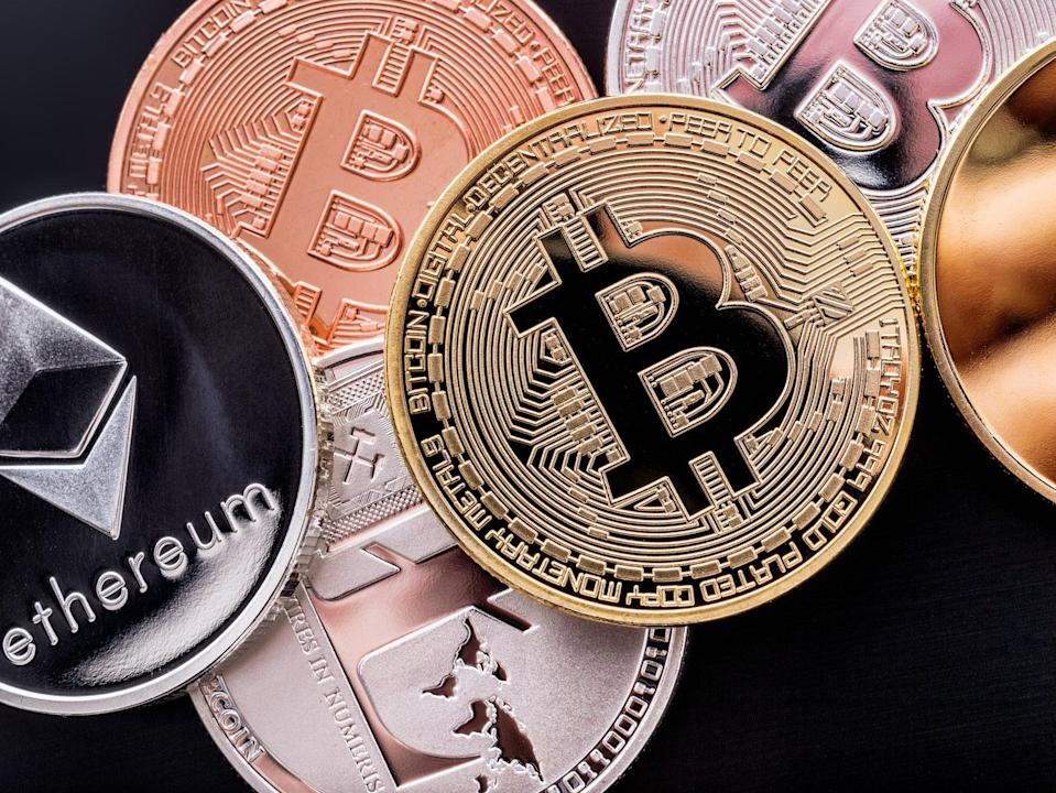 <p>The cryptocurrency market was exceptionally volatile between mid April and early June 2021</p> (Getty Images)