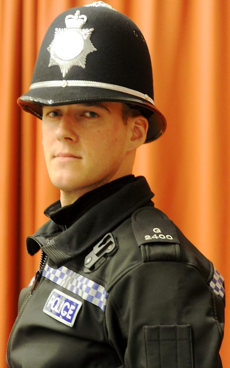 PC Jonathan Adams - Credit: Gloucestershire Live / SWNS