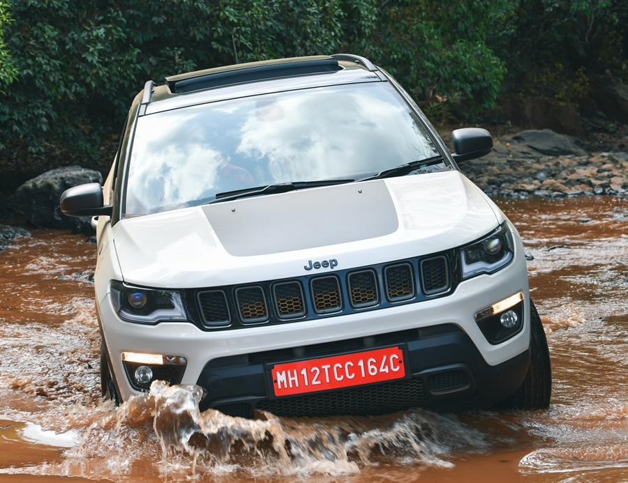 <strong>Jeep Comass Trailhawk (Rs 27 lakh) - </strong>The Compass in its Trailhawk avatar comes with improved wading capability of 500mm.
