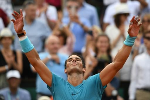 Eleven and counting: Rafael Nadal brushed aside Dominic Thiem to win his 11th French Open title