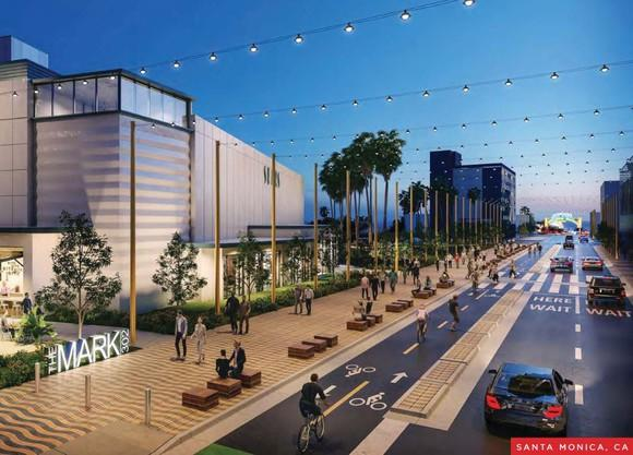 A rendering of The Mark 302 in Santa Monica, California.