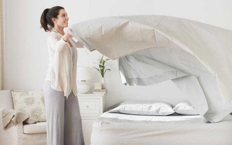 People aren't washing their sheets enough. Photo: Getty