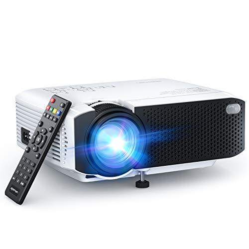 "APEMAN LC350 Mini Projector, 4500L Brightness, Support 1080P 180"" Display, Portable Movie Projector, 45,000Hrs LED Life and Compatible with TV Stick, PS4, HDMI, TF, AV, USB for Home Entertainment (Amazon / Amazon)"