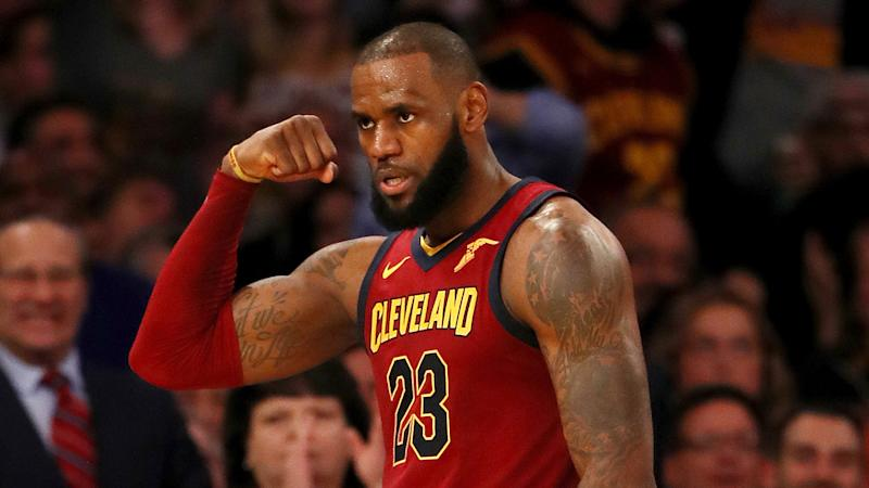 LeBron James joins exclusive club in win over Nets