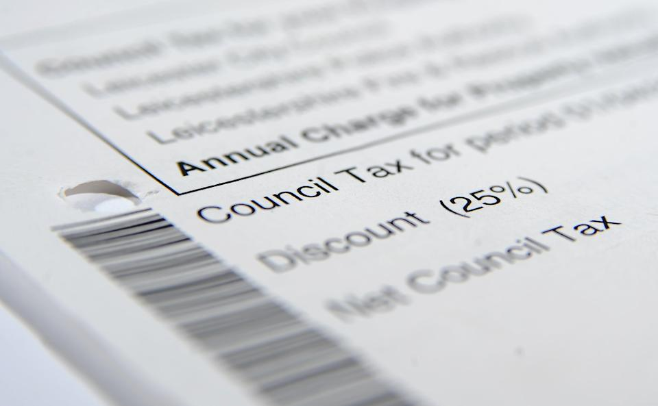 A report said the Government should consider replacing council tax (Joe Giddens/PA) (PA Archive)