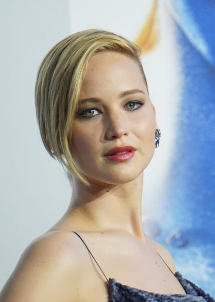 Actress Jennifer Lawrence, shown May 10, 2014 in New York City, was the second highest paid actress in the United States over the past year, earning $34 million, according to Forbes magazine (AFP Photo/Mike Coppola)