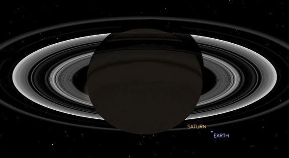 NASA's Cassini Probe to Photograph Earth from Saturn This Week
