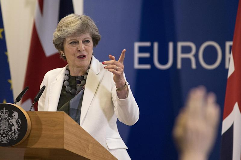 The Prime Minister delivers a speech in Brussels today