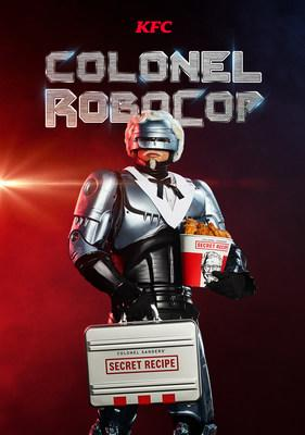 KFC has revealed its newest Colonel Sanders – RoboCop – to act as protector of KFC's secret blend of 11 herbs and spices used to make its world famous Original Recipe chicken.
