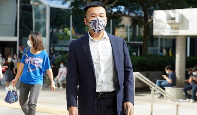 Student To Kai-wa has pleaded not guilty to assaulting three police officers. Photo: Winson Wong