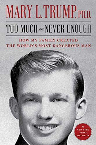 """<p><strong>Simon & Schuster</strong></p><p>Amazon</p><p><strong>$16.80</strong></p><p><a href=""""https://www.amazon.com/dp/1982141468?tag=syn-yahoo-20&ascsubtag=%5Bartid%7C10049.g.33435352%5Bsrc%7Cyahoo-us"""" rel=""""nofollow noopener"""" target=""""_blank"""" data-ylk=""""slk:SHOP NOW"""" class=""""link rapid-noclick-resp"""">SHOP NOW</a></p><p>Clinical psychologist <a href=""""https://www.cosmopolitan.com/politics/a32904797/donald-trump-niece-mary-trump/"""" rel=""""nofollow noopener"""" target=""""_blank"""" data-ylk=""""slk:Mary L. Trump (aka President Trump's niece)"""" class=""""link rapid-noclick-resp"""">Mary L. Trump (aka President Trump's niece)</a> gives an inside look at why the POTUS is the way he is. She dives into ev-er-y-thing, from his love for the spotlight to Ivana's knack for re-gifting to how the President blew off his father once he started succumbing to Alzheimer's. This <a href=""""https://www.cosmopolitan.com/entertainment/celebs/a32967184/donald-trump-brother-restraining-order-mary-book/"""" rel=""""nofollow noopener"""" target=""""_blank"""" data-ylk=""""slk:book generated a lot drama even before it came out"""" class=""""link rapid-noclick-resp"""">book generated a <em>lot</em> drama even before it came out</a>, btw. </p>"""