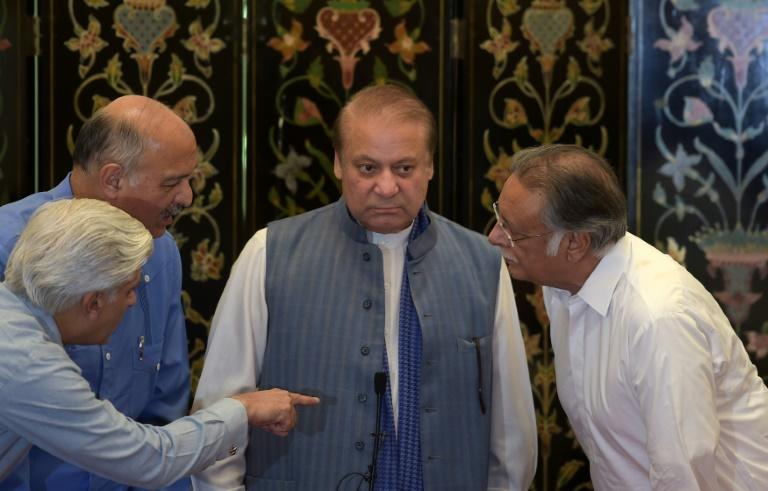 Ousted Pakistani prime minister Nawaz Sharif has claimed there is a conspiracy to reduce the power of his party