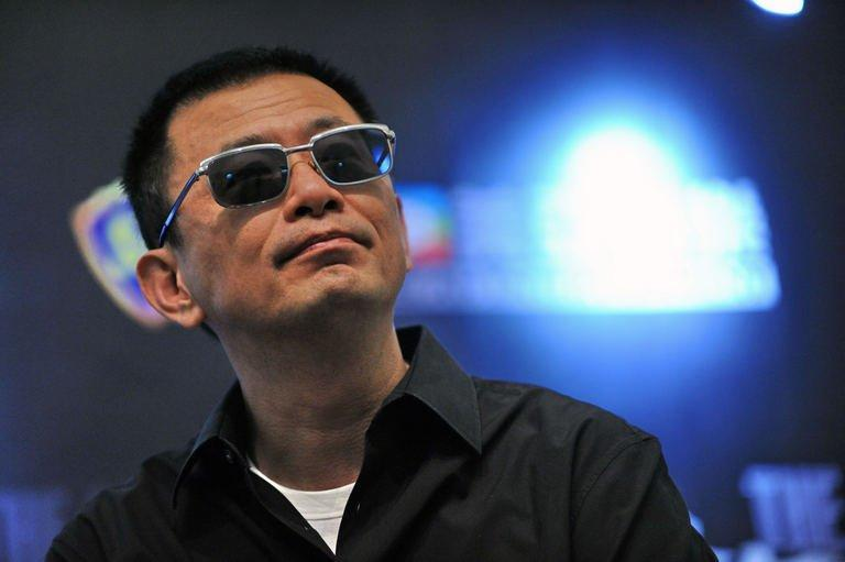 "Chinese filmmaker Wong Kar Wai holds a press conference on ""The Grandmaster"" on January 23, 2013 in Singapore"