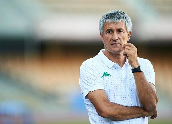 Setien is rumoured as a potential replacement for Valverde at the Camp Nou (Getty)