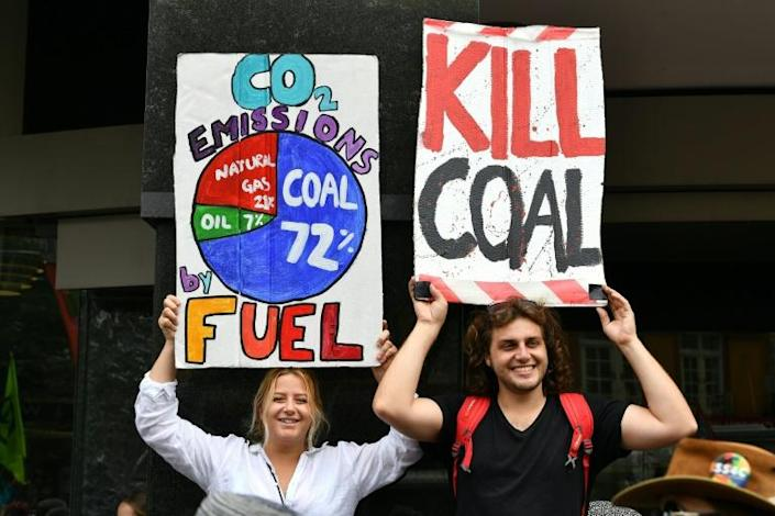 Australia is one of the world's leading coal exporters (AFP Photo/Saeed KHAN)
