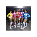 """<p>Gather your mightiest crew and assign each person a color. Then, affix white felt to a leotard, add a ribbon belt, and finish the look with a pair of knee socks. </p><p><a class=""""link rapid-noclick-resp"""" href=""""https://www.instagram.com/p/B4TDdNhABAI/"""" rel=""""nofollow noopener"""" target=""""_blank"""" data-ylk=""""slk:SEE MORE"""">SEE MORE</a></p><p><a class=""""link rapid-noclick-resp"""" href=""""https://www.amazon.com/Speerise-Womens-Sleeve-Leotard-Bodysuit/dp/B0746JKM2W/?tag=syn-yahoo-20&ascsubtag=%5Bartid%7C10072.g.33547559%5Bsrc%7Cyahoo-us"""" rel=""""nofollow noopener"""" target=""""_blank"""" data-ylk=""""slk:SHOP LEOTARD"""">SHOP LEOTARD</a></p>"""