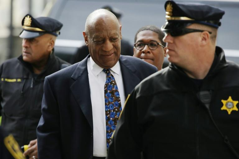 Actor and comedian Bill Cosby arrives for the closing arguments in the retrial of his sexual assault case Norristown, Pennsylvania