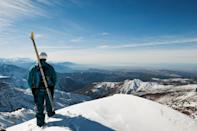 """Arrive in Marrakech and then take about a two-hour drive south to the Atlas Mountains to reach <a href=""""https://www.skiresort.info/ski-resort/oukaimeden/"""" rel=""""nofollow noopener"""" target=""""_blank"""" data-ylk=""""slk:Oukaïmeden"""" class=""""link rapid-noclick-resp"""">Oukaïmeden</a>. The spot is stunning, and the resort makes it easy for guests to explore the surroundings. There are ski tours, lessons from professional instructors, and in-depth itineraries that allow tourists to check out the villages outside the resort."""
