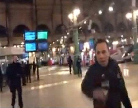 Police evacuate Gare du Nord train station in Paris