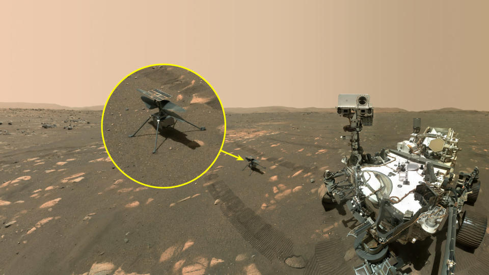 First flight for Mars helicopter, Ingenuity, delayed until ...