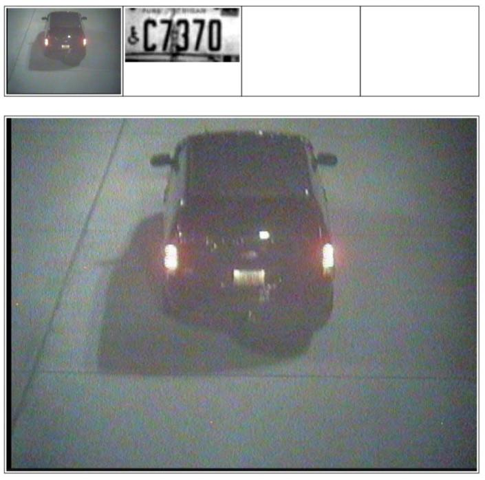 """<div class=""""inline-image__caption""""><p>Allen's real license plate, captured on camera.</p></div> <div class=""""inline-image__credit"""">Department of Justice</div>"""