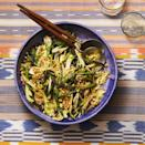"""<p>Grilling the green beans before tossing them in this hearty grain salad gives a vegetarian side dish great charred flavor.</p><p><em><a href=""""https://www.goodhousekeeping.com/food-recipes/a28186104/grilled-green-beans-fennel-and-farro-recipe/"""" rel=""""nofollow noopener"""" target=""""_blank"""" data-ylk=""""slk:Get the recipe for Grilled Green Beans, Fennel, and Farro »"""" class=""""link rapid-noclick-resp"""">Get the recipe for Grilled Green Beans, Fennel, and Farro »</a></em></p>"""