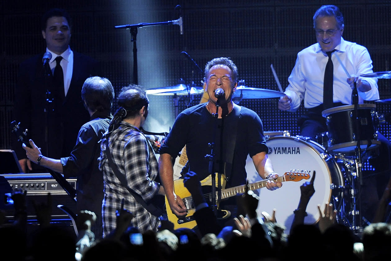 <b>2. Bruce Springsteen - $33,443,606.64</b><br><br>Bruce Springsteen performs with the E Street Band at the MusiCares Person of the Year tribute in his honor at the Los Angeles Convention Center.