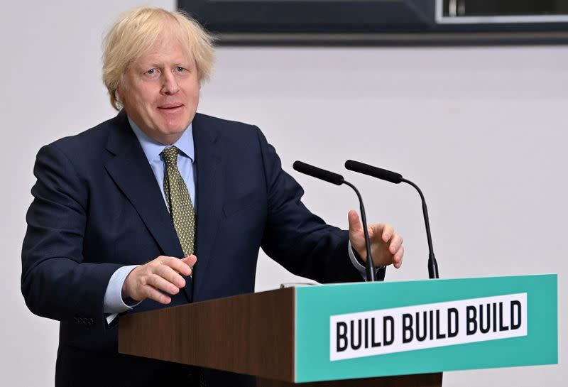 Britain should clap for capitalists too, says PM Johnson