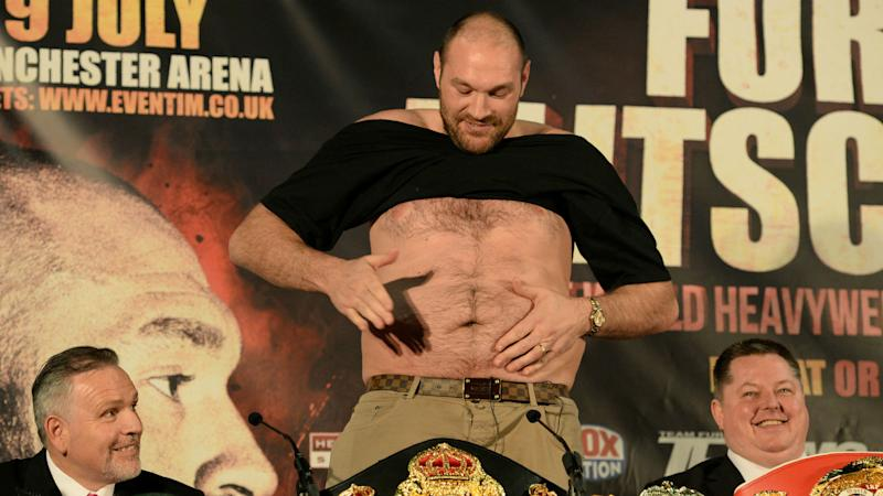 Wilder v Fury: The ups and downs of Tyson Fury's career