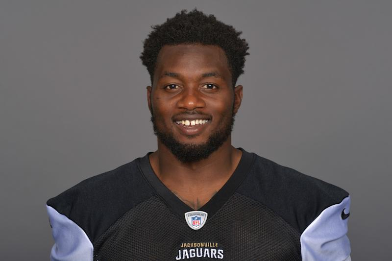 Not smiling now: Jacksonville DE Dante Fowler Jr. was arrested Tuesday night. (AP)