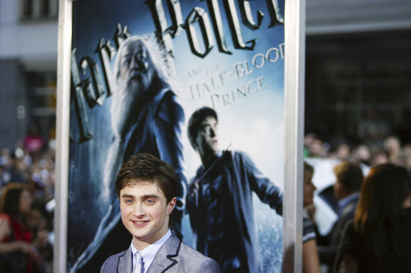 """""""Transgender women are women,"""" Harry Potter star Daniel Radcliffe (pictured in 2009) wrote in an essay for the LGBTQ nonprofit the Trevor Project in response to Rowling's comments. (Photo: REUTERS/Lucas Jackson)"""